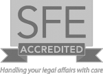 SFE Accredited badge